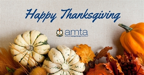 Happy Thanksgiving from AMTA