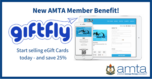 New AMTA Member Benefit digital gift cards GiftFly